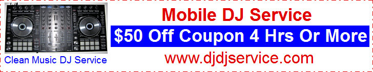 DJ Service, Clean Music Entertainment $50 Off Coupon