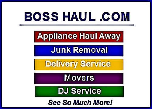 DJ Service, Movers, Junk Removal, Delivery Service, Appliance Haul Away, Get Coupons, And More